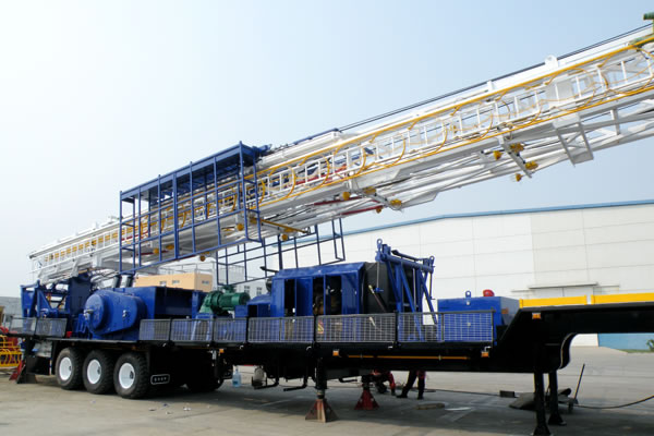 TZJ15-Trailer-Mounted-Drilling-Rig