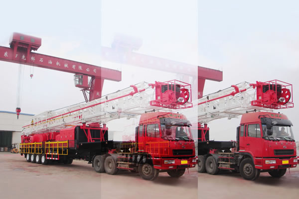 TZJ40-Trailer-Mounted-Drilling-Rig